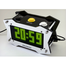 Xronos Arduino Talking Alarm Clock with Arcade Buttons