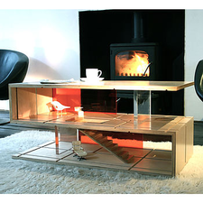 Dual Purpose 'S' Coffee Table And Dolls House
