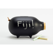 Chalk-it-to-me Piggy Bank by Ladies & Gentlemen